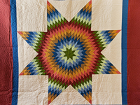 King Southwest Colors Lone Star Quilt
