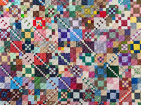 Trail Mix Patchwork Quilt