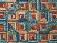 Log Cabin King Size
