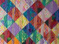 Funky Stripes with Kaffe Fassett's fabrics Double/Queen