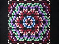 Echo Tumbling Blocks - Queen Amish colors