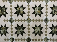 Green Cross Country Quilt