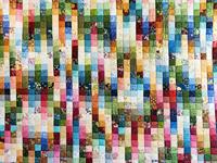 King Antique Colors Ma's Patches Quilt