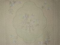Lancaster Treasure - Queen  Chevron border/neutrals/tans/grays/ ivory