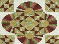 Jacob's Ladder Fan Quilt