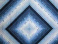 Blue King Color Splash Quilt