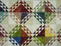 Multicolor Wrapped In Scraps Quilt
