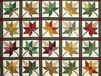 King Autumn Splendor Quilt