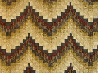 Egyptian Colors Bargello Quilt