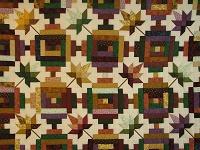 Bright Court Step Autumn Splendor Quilt