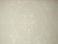 Lancaster Treasure King  Soft Neutrals-Hand Applique, Hand Quilted