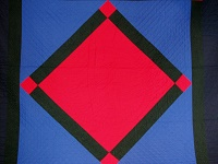 Amish Center Diamond Quilt