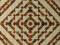 Timberline Log Cabin Quilt