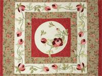 Queen Size Bed- C J Horst Original Design I Promised You a Rose Garden
