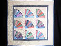 Multicolor Fans Wall Hanging