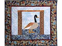 Patchwork Goose Wall Hanging
