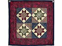 Miniature Ohio Stars Quilt