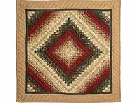 Gold Red and Green Color Splash Wall Hanging