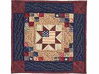 Miniature Patriotic Quilt