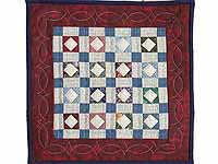 Diamond Checkerboard Miniature Quilt