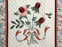 Rose and Sage Lancaster Treasures Wall Hanging