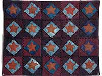 All Wool Little Stars Wall Hanging