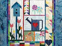 Blue and Multicolor Signs of Spring Sampler