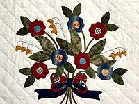 Rose of Sharon Compass Wall Hanging