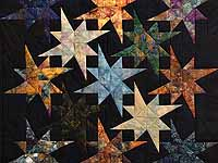 Hand Painted Star Bright Wall Hanging