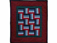 Amish Weaver Miniature Quilt