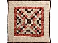 Miniature Jewel Box Quilt