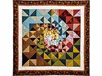 Spiral Tiles Throw