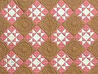 Indiana Amish Honeyville Star Quilt