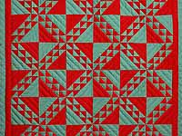 Indiana Amish Lady of the Lake Quilt