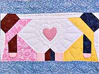 Sunbonnet Sisters Throw