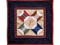 Miniature Spool and Scissors Quilt