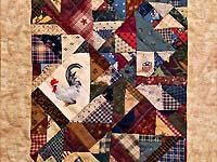 Miniature Crazy Quilt