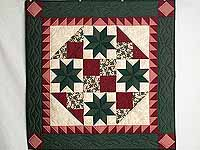 Red and Green Starburst Wall Hanging