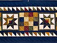 Country Colors Patchwork Runner