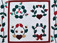 Christmas Album Sampler Wall Hanging