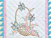 Spring Basket Wall Hanging
