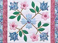 Rose of Sharon Wall Hanging