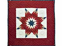 Patriotic Lone Star Wall Hanging