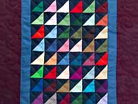 Mini Almost Amish Shadows Quilt