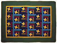 Amish Friendship Star Throw