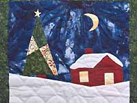 Christmas Eve Scene Wall Hanging