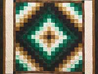 Green and Brown Trip Around the World Wall Hanging