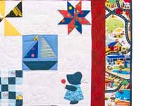 Extraordinary Sampler Crib Quilt