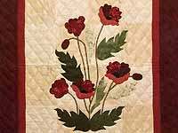 Poppy Fields Wall Hanging