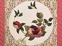 Rose Garden Wall Hanging